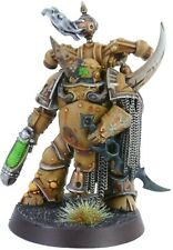 Warhammer 40K Chaos Space Marines Death Guard Plague Marine Champion