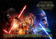 Personalized, Star Wars Birthday Card, Free p&p
