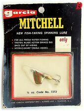 Vintage Spinner Mitchell Cuiller 3gr Double-Blades Gold/Red, new on card