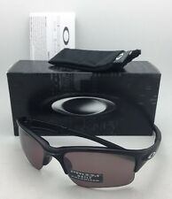Polarized OAKLEY Sunglasses QUARTER JACKET OO9200-17 Matte Black w/ Prizm Daily