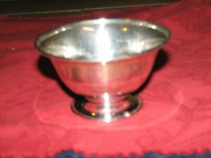 Sterling Silver Bowl Marked Coios Sterling 3.24 Troy Ounces 100.6 Grams