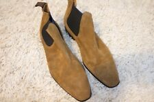 Brown Suede Paul Smaith Chelsea Boots