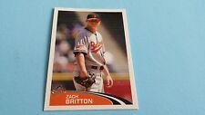 2012 TOPPS BASEBALL ZACH BRITTON STICKER #7***BALTIMORE ORIOLES***