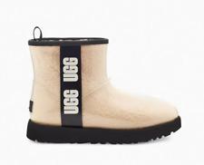 UGG Women's Classic Clear Mini Boot Natural/Black