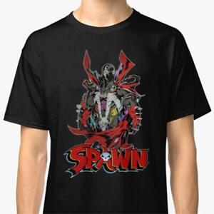 Vintage Movie Spawn T Shirt Black Unisex Cotton Reprint Men Women TK1700