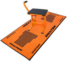 NEW KTM SX SXF EXC MOTOCROSS GARAGE PADDOCK MAT  LIFT UP JACK STAND COMBO