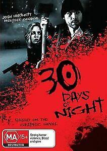 30 Days Of Night DVD Josh Hartnett, Melissa George - Vampire Movie