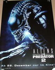 ALIENS VS PREDATOR 2  original Kino Teaser Plakat A1 gerollt