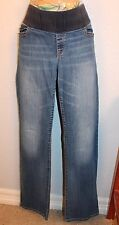 WOMENS LOVELY STRETCH MATERNITY BLUE JEANS by GAP MATERNITY SIZE 31/12