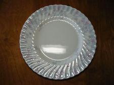 "Minton England GARDEN PINK Set of 5 Dinner Plates 10 3/4"" Pink Grey no gold trim"