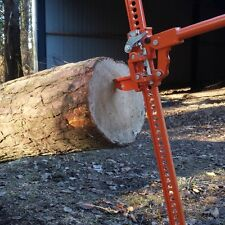 FOREST MASTER TIMBER JACK TREE PUSHER LOG LIFTER SAW HORSE FELLING BAR 3 TON