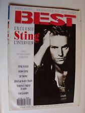BEST N° 232, nov 1987, Dutronc, Indochine, poster MICHAEL JACKSON / AUBERT'N'KO