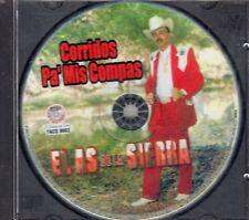 El As De La Sierra Corridos Pa Mis Compas CD No Front Cover Like New