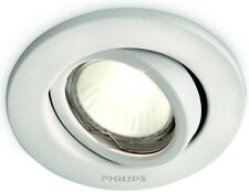Philips 01796/31/PN Single Recessed Outdoor Downlight White Finish