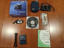 Canon PowerShot S-110 12.1MP Digital Camera, Black