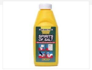 Kilrock Spirit of Salt 500ml Dissolves Slime and Hardwater Stains 350774