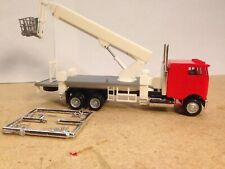 HO 1:87 Promotex # 6458 Peterbilt COE Boom Truck Picker  - Reddish Orange