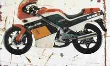 Honda NS400R 1985 Aged Vintage SIGN A4 Retro