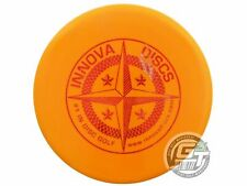 Used Innova 1st Run Star AviarX3 175g Orange Red Shatter Foil Putter Golf Disc