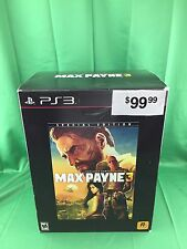 Max Payne 3 (Special Edition) Sony PlayStation 3, PS3 2012 NEW