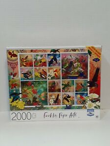 FINCHLEY PAPER ARTS- Birds of Asia Puzzle 2000 Pieces NEW Colorful