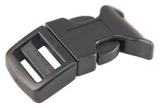 25 - 3/4 Inch Economy Contoured Side Release Plastic Buckles