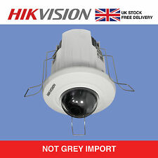 Hikvision 2MP Recessed Mount Dome DS-2CD2E20F White 2MP 1080P HD IP 4mm 2.8mm