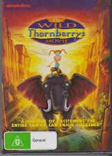 THE WILD THORNBERRYS - Tim Curry, Rupert Everett, Flea - DVD - NEW -