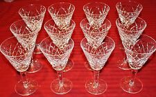 Set of 12 Waterford TYRONE Water Goblets GREAT CONDITION