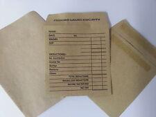 Quality Plain Or Printed Manilla Wage Envelopes Self Seal 90gsm Envelopes