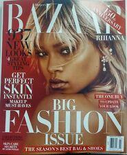 Harper's Bazaar March 2017 Rihanna Big Fashion Issue Style Tips FREE SHIPPING sb