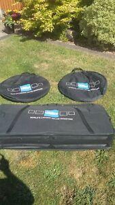 Chain Reaction Bike travel bag with wheel bags