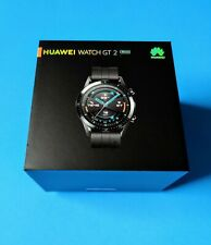 Huawei GT 2 46mm Case Black Strap Smartwatch - (55024316) - Excellent Condition
