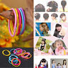 50 Quality Thick Endless Snag Free Hair Elastics Bobbles Bands Ponios Mix 2r