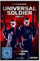 UNIVERSAL SOLDIER/UNCUT - VAN DAMME,JEAN-CLAUDE/LUNDGREN,DOLPH   DVD NEU