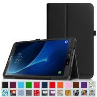 For Samsung Galaxy Tab A 10.1 SM-T580 Folio Case Cover Stand Auto Wake/Sleep