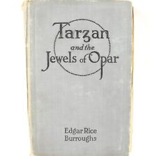 Tarzan and the Jewels of Opar Book (1918) Gry Cover
