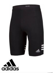 adidas mens Cycling Shorts Climalite & Reflective Technology free 1st class del