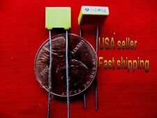 25 pcs - .001uf (0.001uf, 1nf) 63v metalized film poly capacitor