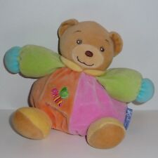 Doudou Ours Kaloo - Rose Orange