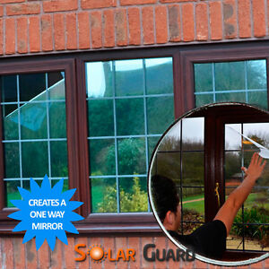Reflective Window Film - Solar Control & One Way Mirror Privacy Glass Tint