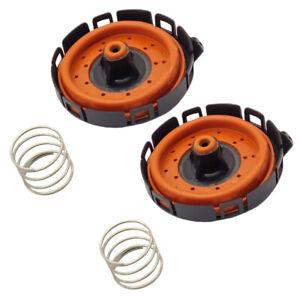 Set of 2 PCV Valve Repair Kit For BMW 550i 650i 750i 745i 745Li X5 4.8L V8