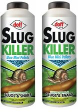2x DOFF 800G (1.6KG) GARDEN SLUG SNAIL KILLER BLUE MINI PELLETS 2 PACK