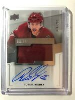 2014-15 Upper Deck Premier Acetate Tobias Rieder Rookie Patch Auto /299