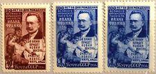 RUSSIA SOWJETUNION 1956 1868-69 A-C 1858-59 100 Geb Iwan Franko Schriftsteller**