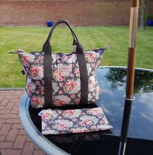 Cath Kidston Foldaway Shopper Bag/Overnight Bag Rose Paisley- 2018 new Design