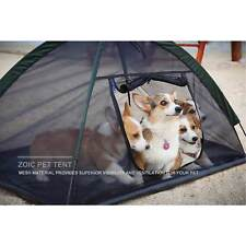 Pet Dog Cat Tents Outdoor Hiking Camping House Bed S/M Mesh Side Cover CA Ship