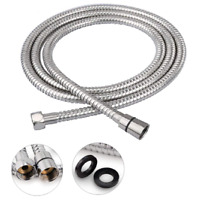 79Inch Shower Hose Handheld Extra Long Stainless Steel Replacement Brass Fitting