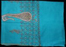 Indian Kashmir - Kashmiri Handmade Pashmina Cashmere Shawl/Stole With Embroidery