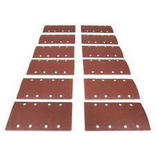 Wen 1/3 Sheet Sander Hook & Loop Abrasive Sanding Sandpaper 12 Pack Assorted